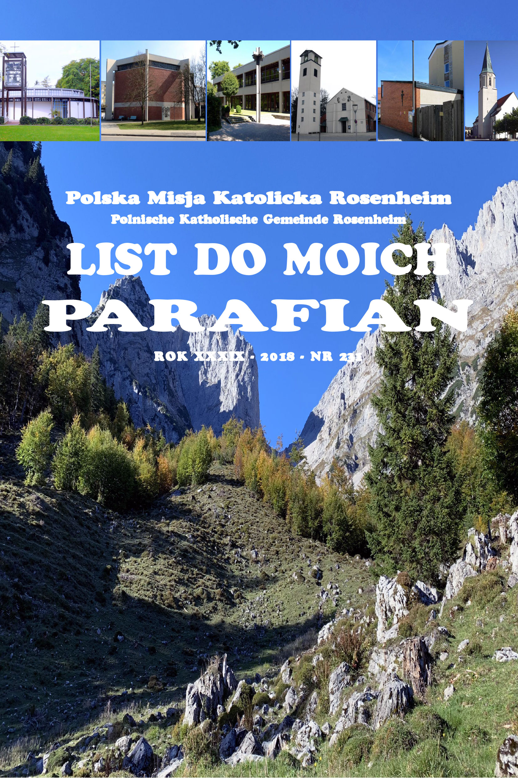 List do moich parafian Nr 231